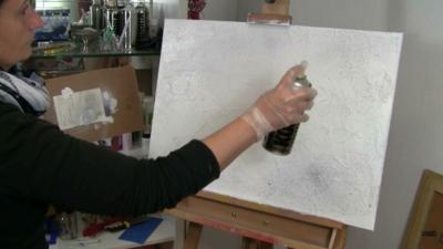 Wie Sie mit Gold & Silber Ihre Acrylbilder malen und verzaubern…